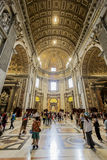 Saint Peter Cathedral Stock Images