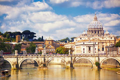 Saint Peter cathedral, Rome Royalty Free Stock Image