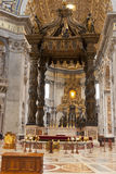 Saint Peter Cathedral in Vatican City Stock Photos