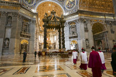 Saint peter cathedral, vatican Royalty Free Stock Photo