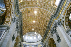 Saint peter cathedral, vatican Royalty Free Stock Photography