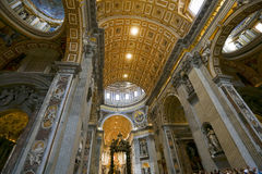 Saint peter cathedral, vatican Stock Photo