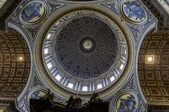 Saint Peter cathedral in Vatican Stock Image