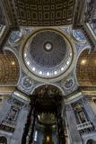Saint Peter cathedral in Vatican Stock Photography