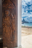 Saint Peter Chapel Fernando Noronha Brazil Stock Photo