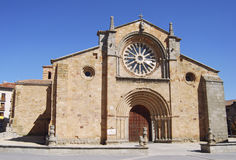Saint Peter church in Avila Stock Photos