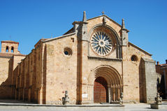 Saint Peter church in Avila Royalty Free Stock Images