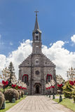 Saint Peter Church Gramado Brazil Stock Images