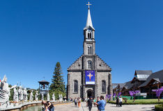 Saint Peter Church Gramado Brazil Stock Photo