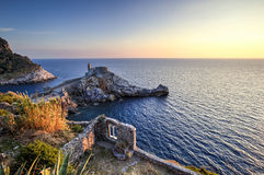 Saint Peter Church, Portovenere, Italy Stock Photo