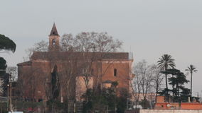 Saint Peter church in Rome stock footage