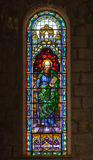 Saint Peter Church Stained Glass in Gramado Stock Photography