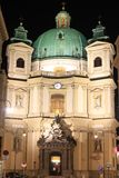 Saint Peter church in Vienna Stock Image