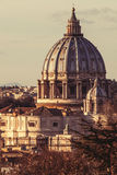 Saint Peter de Basilicaof, Roma Italy imagem de stock royalty free
