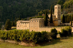 Saint Peter della Valle Abbey royalty free stock photography