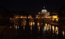 Saint Peter Dome at night Stock Image