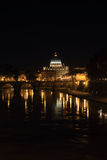 Saint Peter Dome at night Stock Images