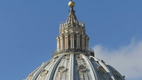 Saint Peter Dome stock footage