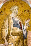 Saint Peter with the Keys of Heaven. royalty free stock photo