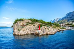 Saint Peter Makarska Stock Photography