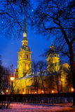 Saint Peter and Paul Cathedral Stock Photography