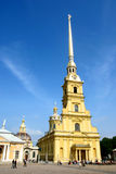 Saint Peter and Paul cathedral. Saint Petersburg Stock Image