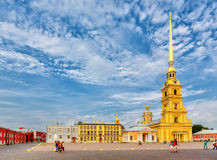 Saint Peter and Paul cathedral in Saint Petersburg Royalty Free Stock Images