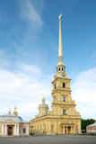 Saint peter and paul cathedral (st petersburg) Royalty Free Stock Images