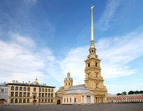 Saint peter and paul cathedral (st petersburg) Royalty Free Stock Photos