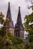 Saint Peter and Paul Cathedral, Vysehrad, Prague Stock Photo