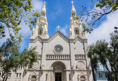 Saint Peter and Paul Church in San Francisco Stock Photo