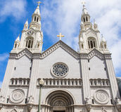 Saint Peter and Paul Church in San Francisco stock image
