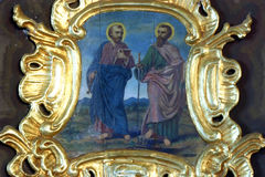 Saint Peter and Paul Royalty Free Stock Photo