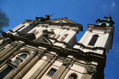 Saint Peter and Paul Temple. Krakow. Poland. Royalty Free Stock Image