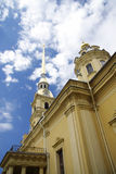 Saint Peter and Pavel church exterior details Royalty Free Stock Photos