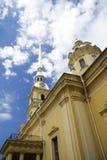 Saint Peter and Pavel church exterior details Royalty Free Stock Photos