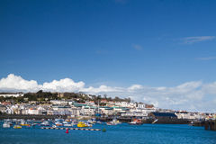 Saint Peter Port,  Guernsey. Stock Image