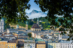 Saint Peter's Archabbey in Salzburg, Austria Stock Photos
