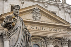 Saint Peter's basilica Stock Photos