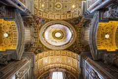 Saint Peter's Basilica detail Stock Image
