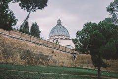 Saint Peter's Basilica Dome Stock Photos