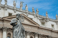 Saint Peter's basilica Stock Images