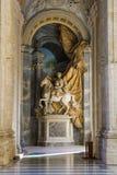 Saint Peter's basilica gallery. Vatican. Saint Peter's basilica gallery stock photo