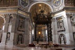 Saint Peter's Basilica Stock Image