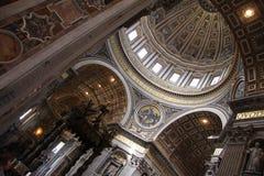 Saint Peter's Basilica Stock Photography