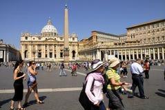SAINT PETER'S BASILICA,ROME-JUNE 18 Stock Photo