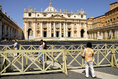 SAINT PETER'S BASILICA,ROME-JUNE 18 Royalty Free Stock Photos