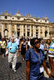 SAINT PETER'S BASILICA,ROME-JUNE 18 Royalty Free Stock Photography