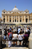 SAINT PETER'S BASILICA,ROME-JUNE 18 Stock Images