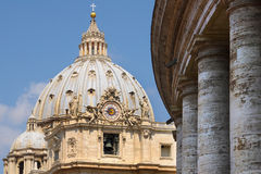 Saint Peter's Basilica in Vatican. Stock Photo
